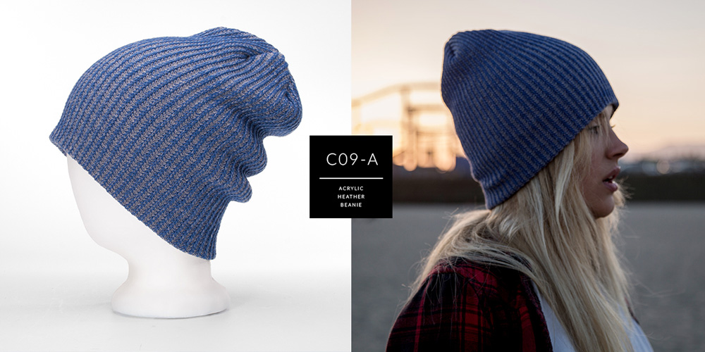 C09-A // HEATHER BEANIE - ACRYLIC