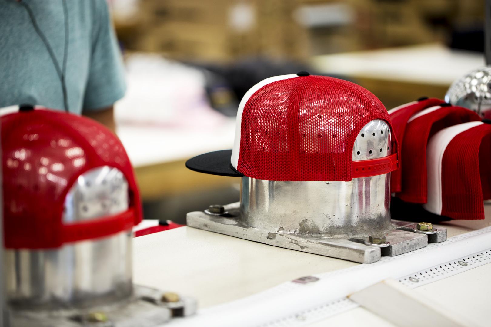 Captuer Headwear Steam Blocking CU