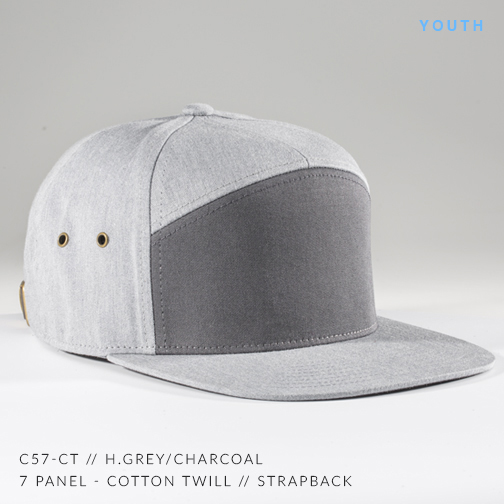 c57-CT // CHARCOAL/H. GREY (YOUTH)