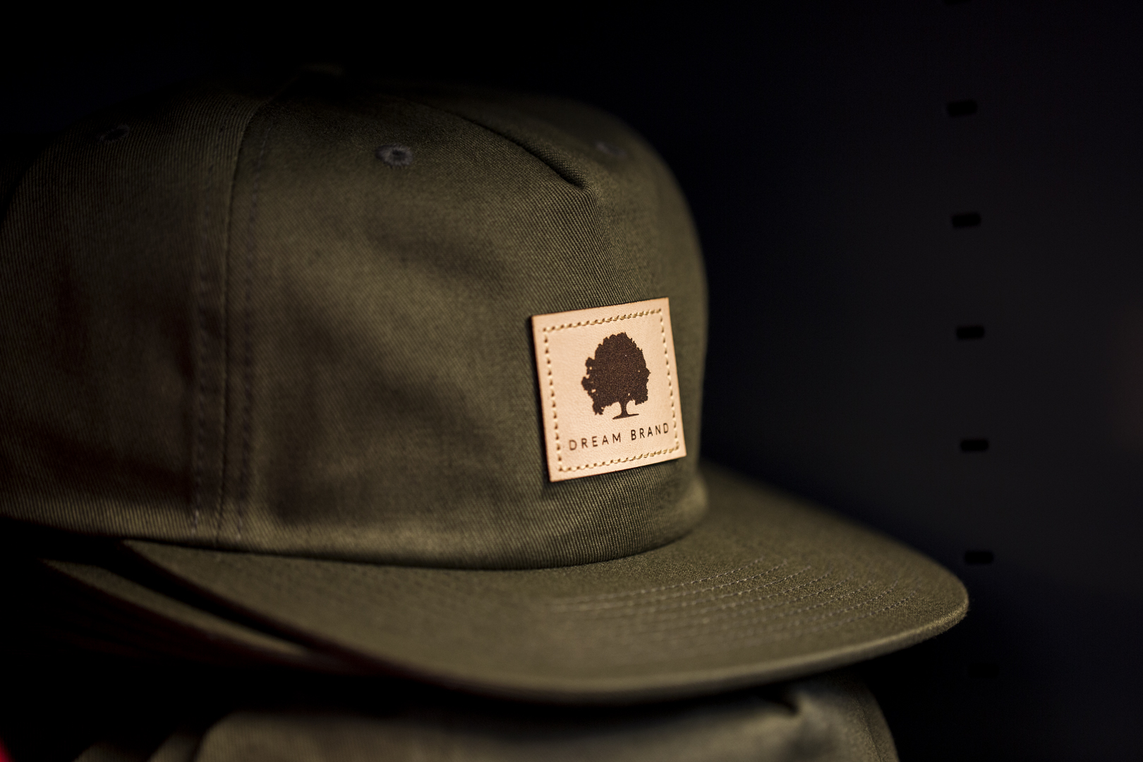 C55-PC // Loden -  Pinch Front 5 Panel | Stapback - Dream Brand
