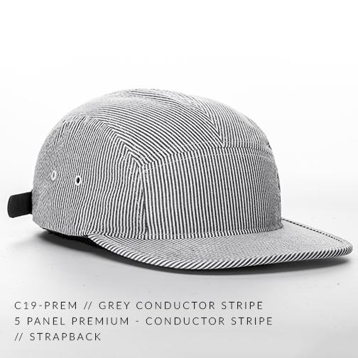 C19-PREM // GREY CONDUCTOR STRIPE