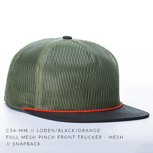 c54-MM // LODEN/BLACK/ORANGE