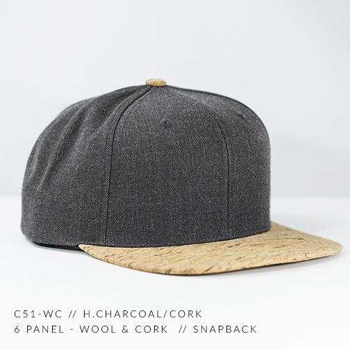 C51-CORK // HEATHER CHARCOAL / CORK
