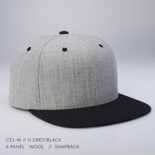 c51-W // H.Grey/Black