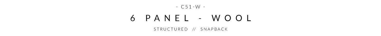 c51-w Custom Snapback Header