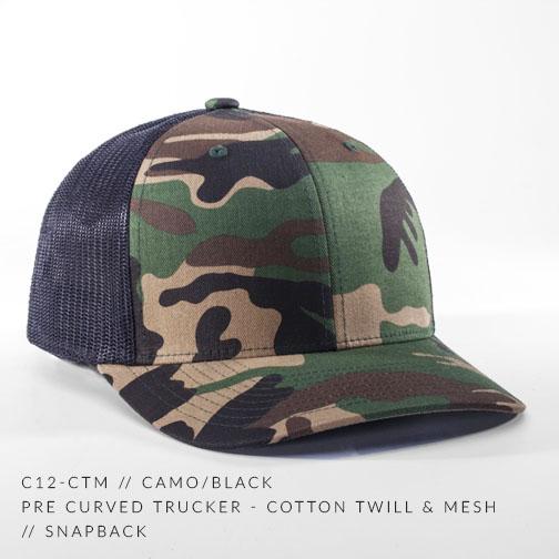 c12-CTM // Camo/Black