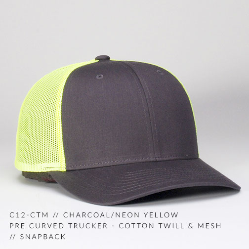 c12-CTM // Charcoal/Neon Yellow