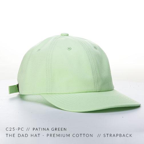 C25-PC // PATINA GREEN
