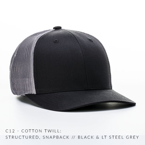 c12-CTM // Black/Lt Steel Grey