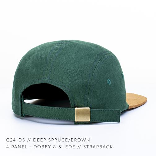 c24-DS // DEEP SPRUCE/BROWN BACK