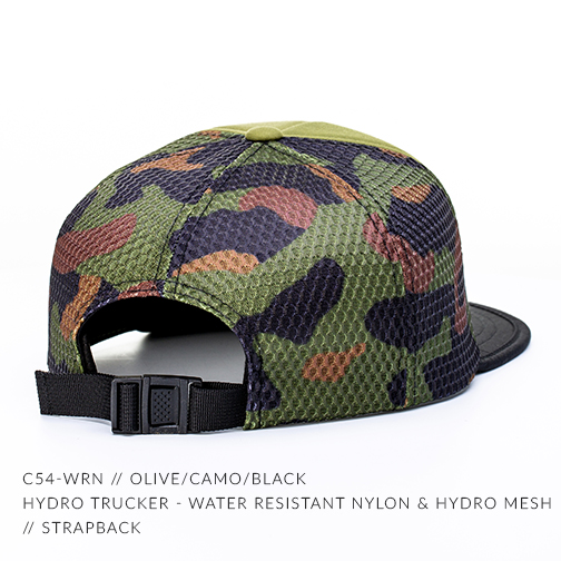 C54-WRN // OLIVE/CAMO/BLACK - BACK