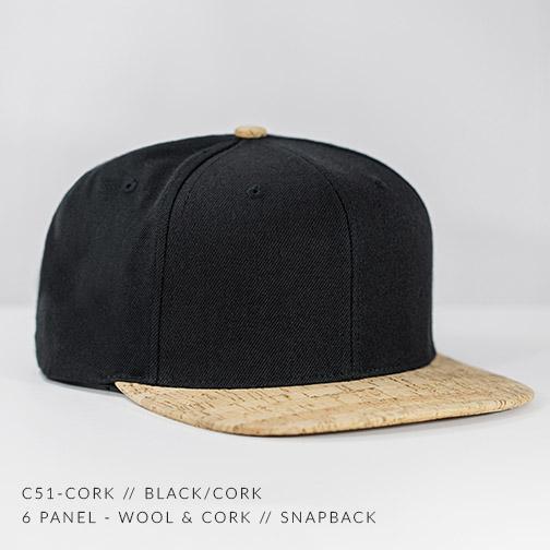 C51-CORK // BLACK / CORK