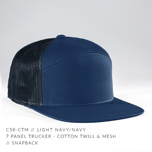 c58-CTM // LIGHT NAVY / NAVY