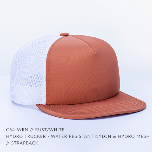 C54-WRN // RUST/WHITE