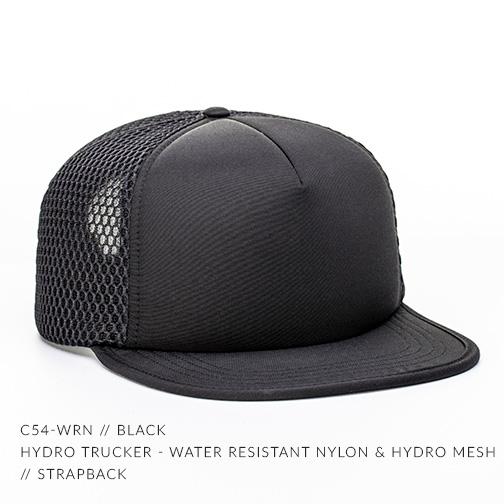 C54-WRN // BLACK/BLACK