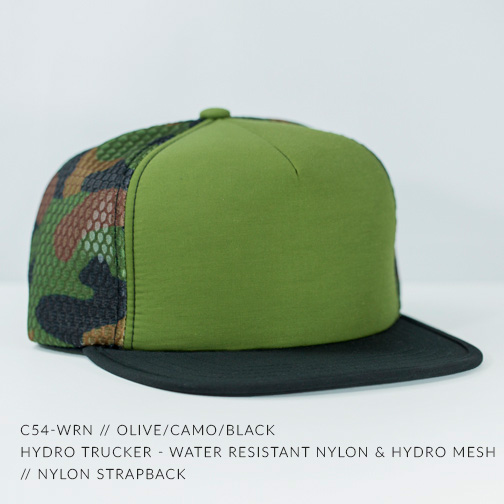 C54-WRN // OLIVE/CAMO/BLACK