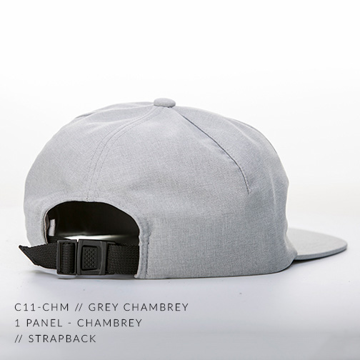 C11-CHM // BLACK CHAMBREY - BACK