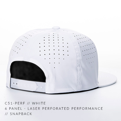 C51-PERF // WHITE BACK