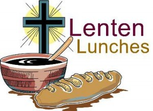 Join us for a Lenten Lunch Poff Hall