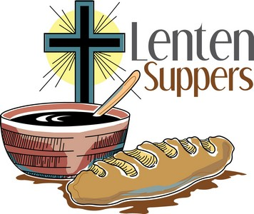 Join us for a Lenten Supper in Poff Hall