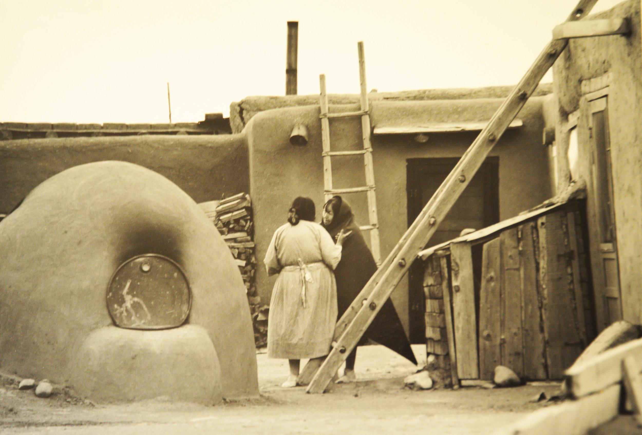 Gossips, Taos Pueblo, 1979.jpg