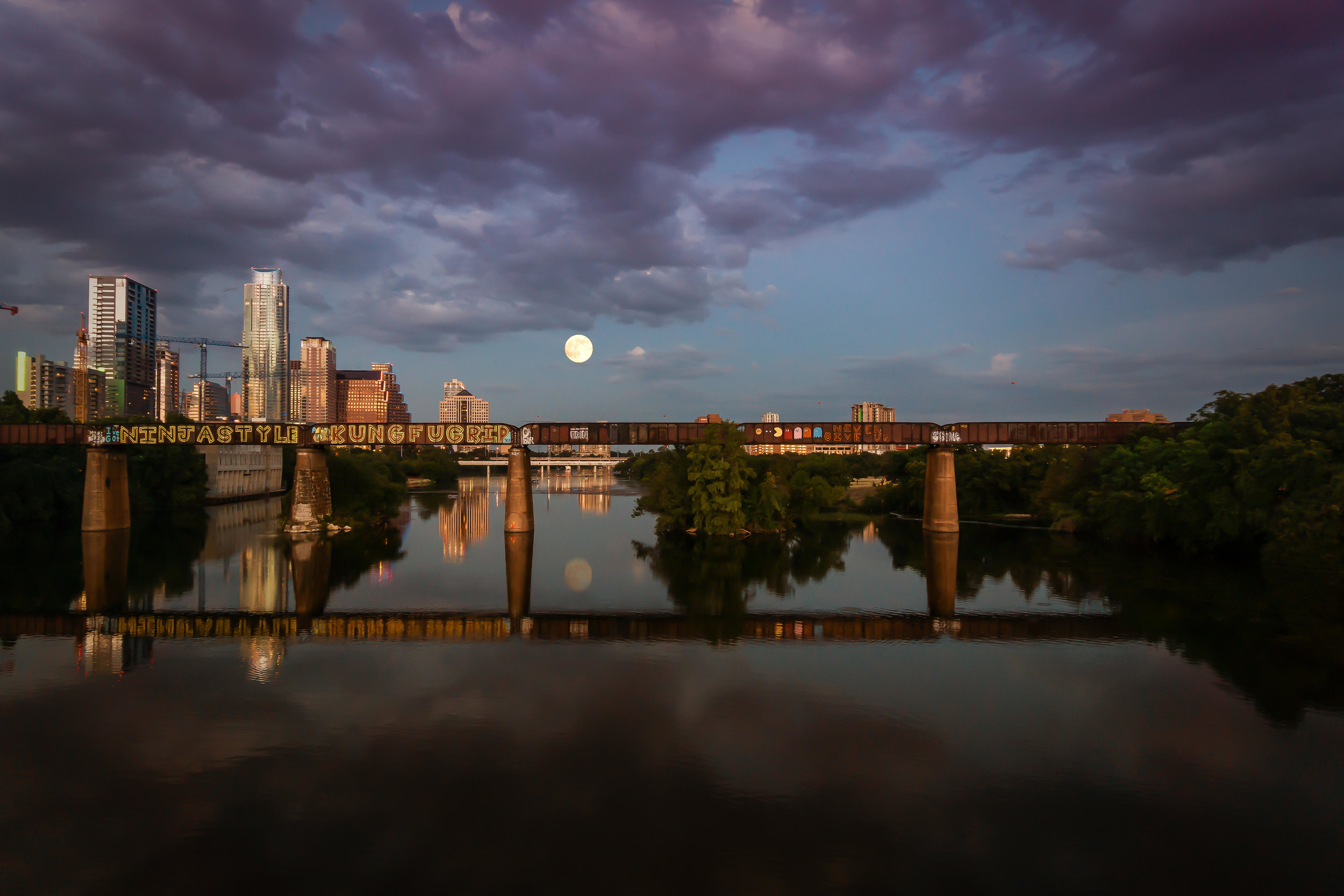Downtown Supermoon