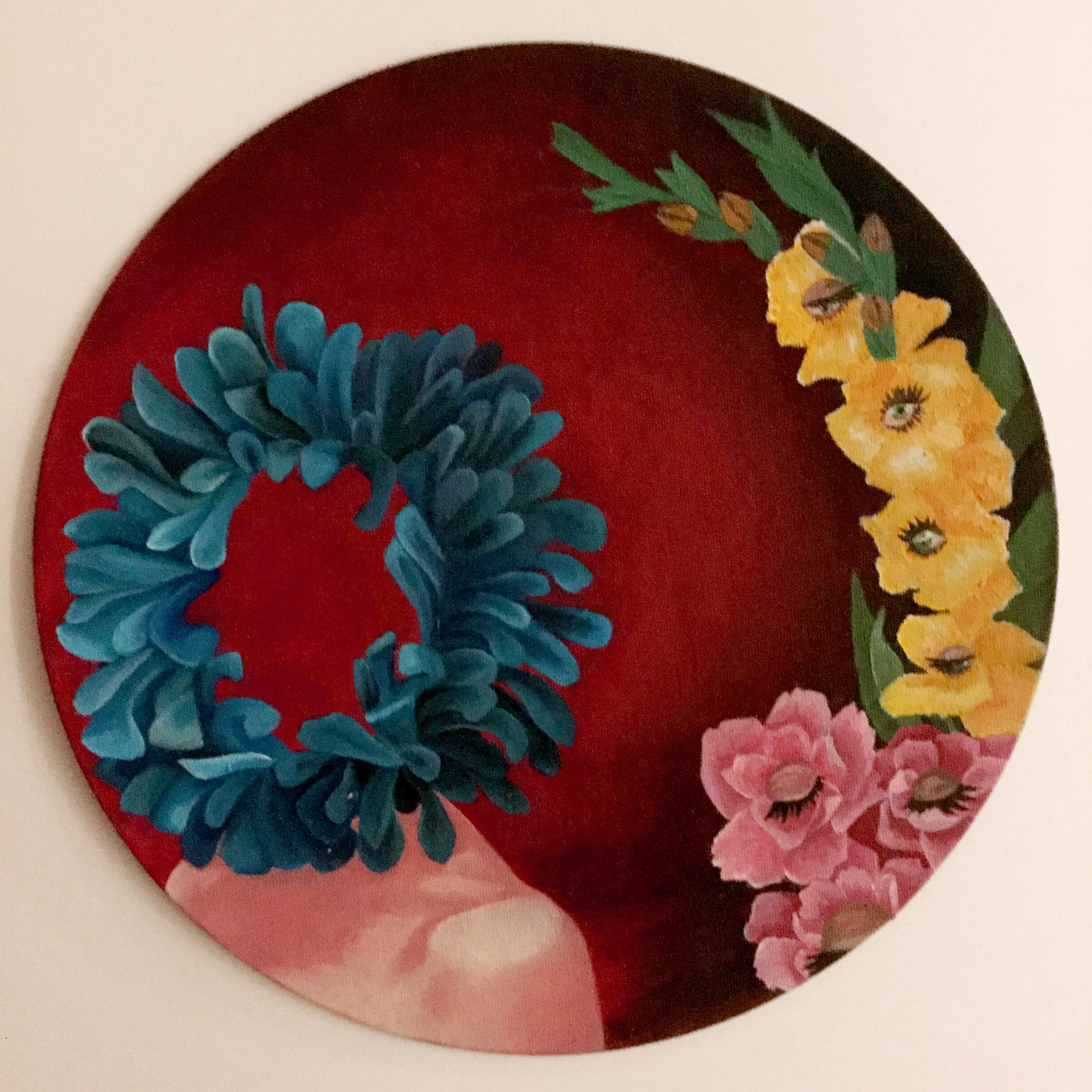 """""""Tondo"""" - Alaina Cook (oil)"""