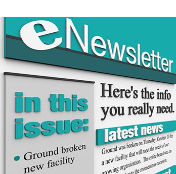 Email newsletters put your business in direct contact with your customers and prospects quickly and cost-effectively.