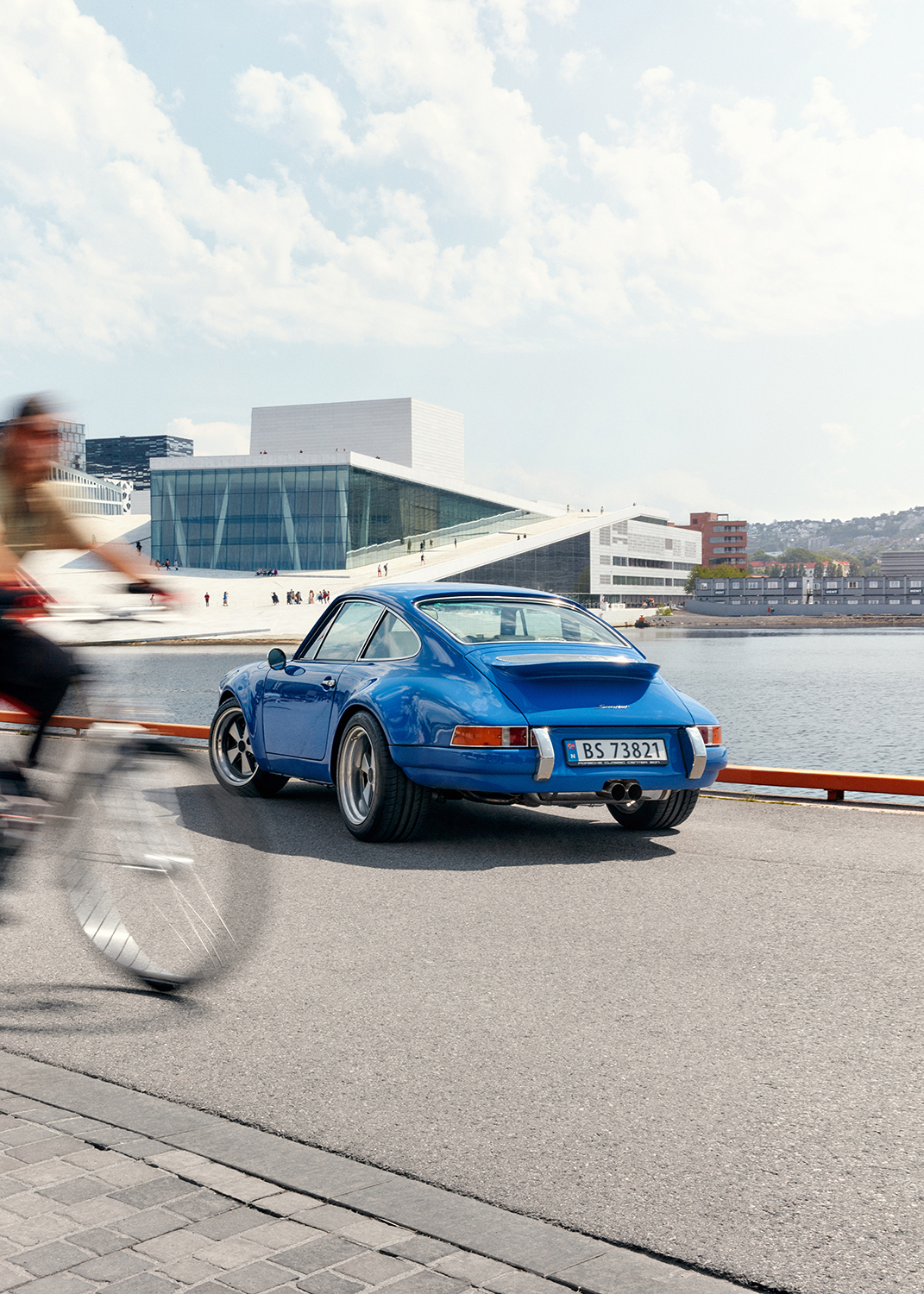 "Photographes of the 1991 Porsche 911 Sooner Edition, created together with Axel Catton. Images to be credited ""Photo: Marius Viken""."