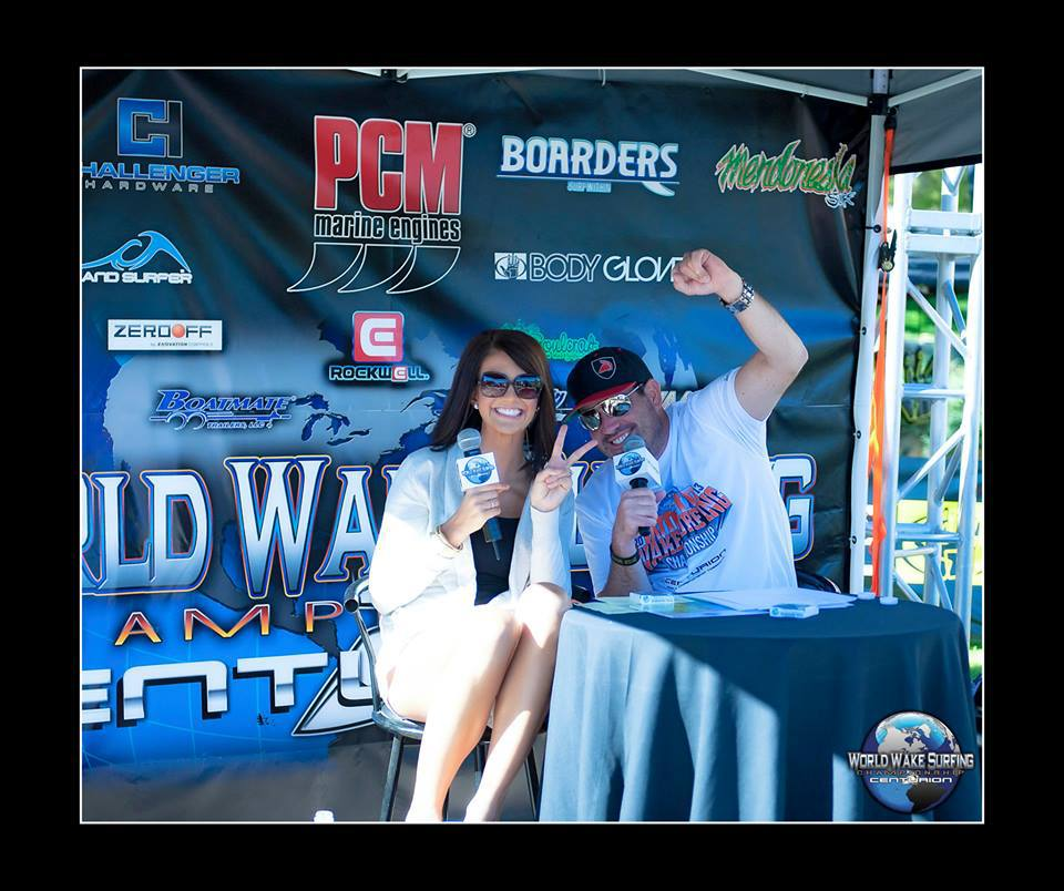 Announcing World Wakesurf Championships w/ Todd Gaughan from Centurion Boats