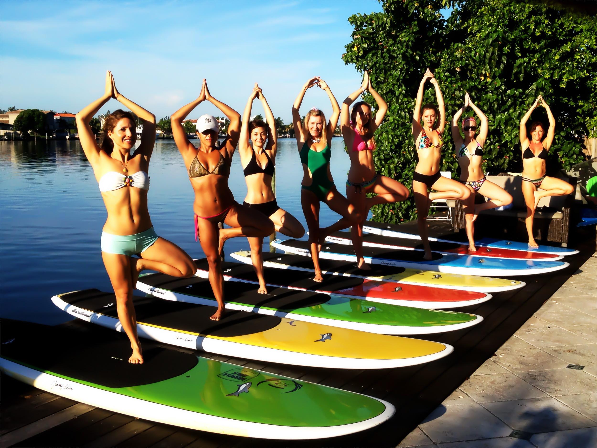 Sup Yoga Teacher Training Retreat In Maui With Dashama Boarders Magazine