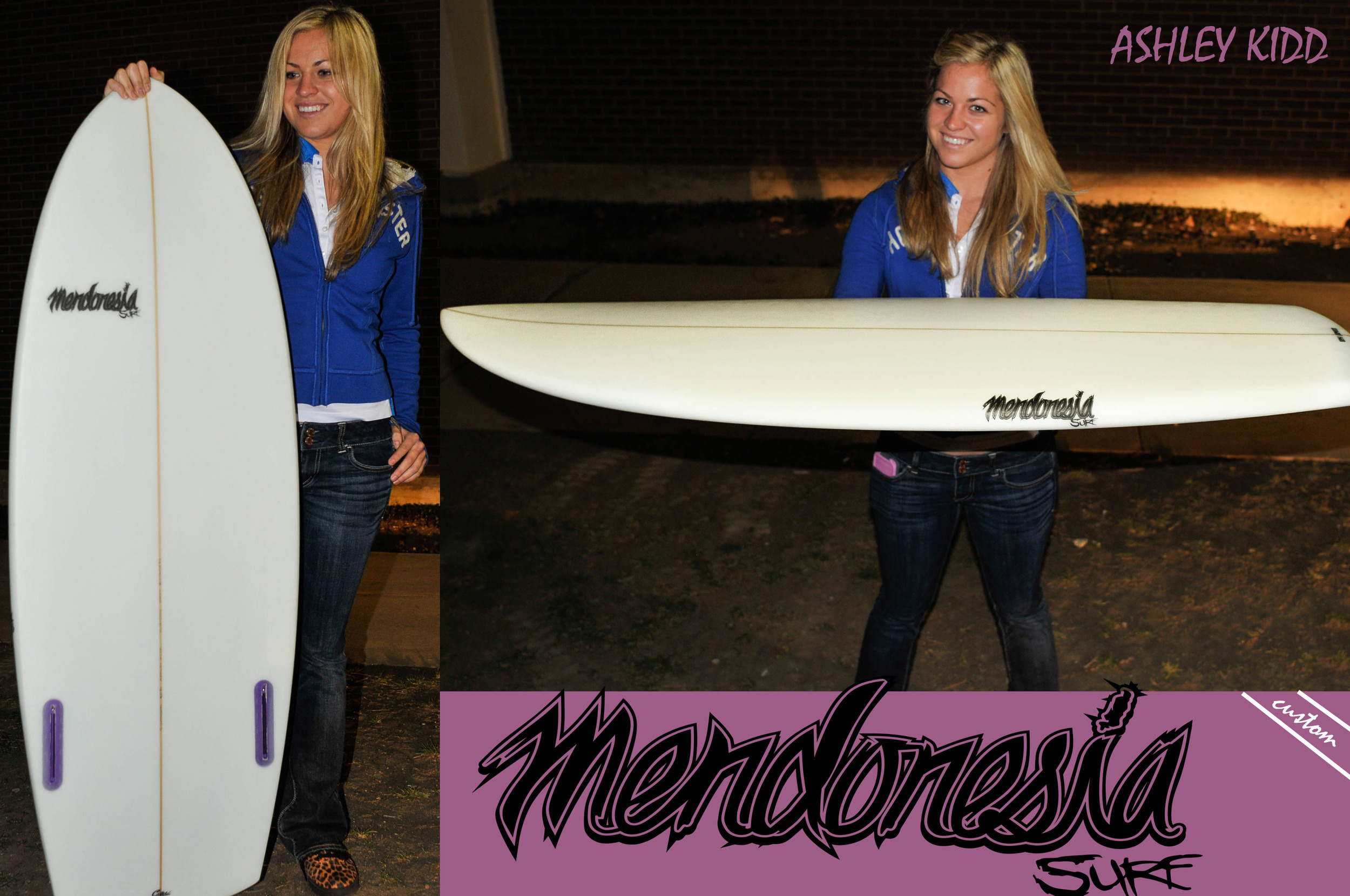Mendonesia & Tige team pro wakesurf Ashley Kidd
