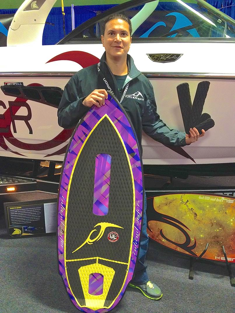 VP of Inland Surfer, Lance Connor