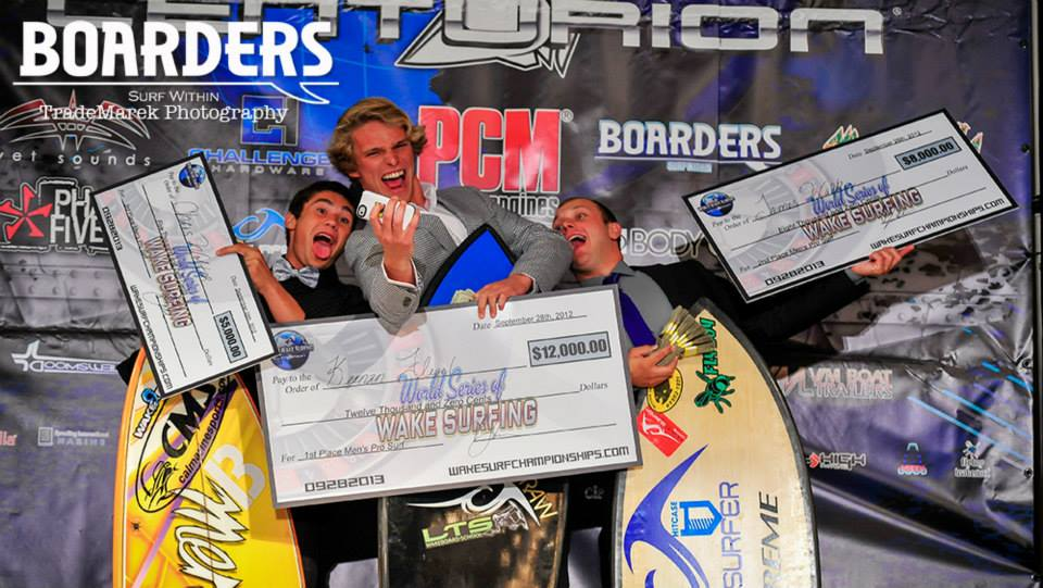 From Left to Right: Chris Wolter, Keenan Flegel, James Walker