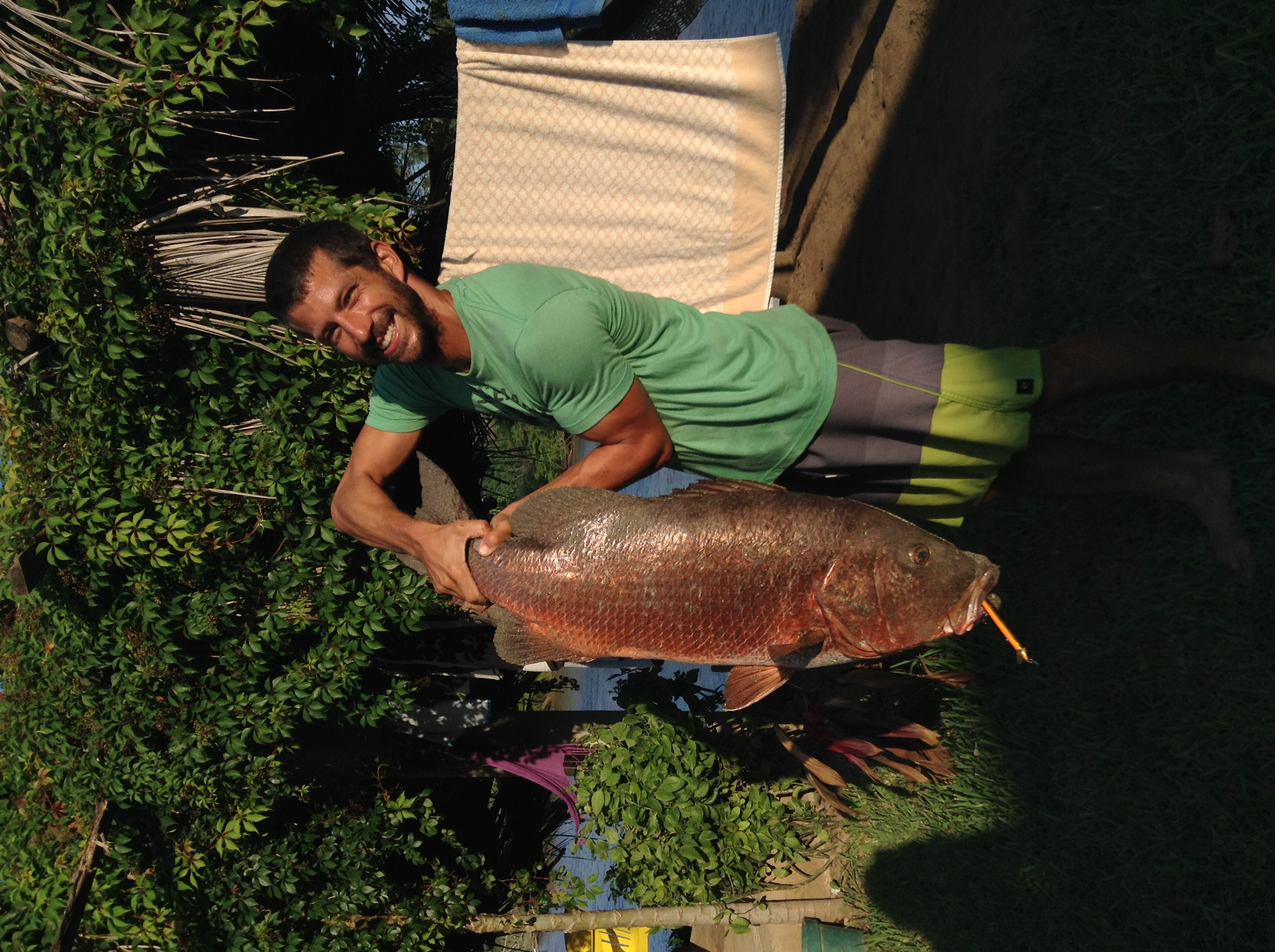 Doum with a huge catch in Mexico Photo-Marina Lopez
