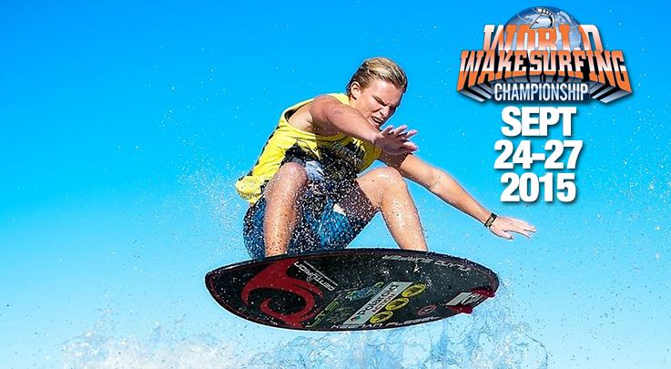 World Wake Surfing Championship 2015