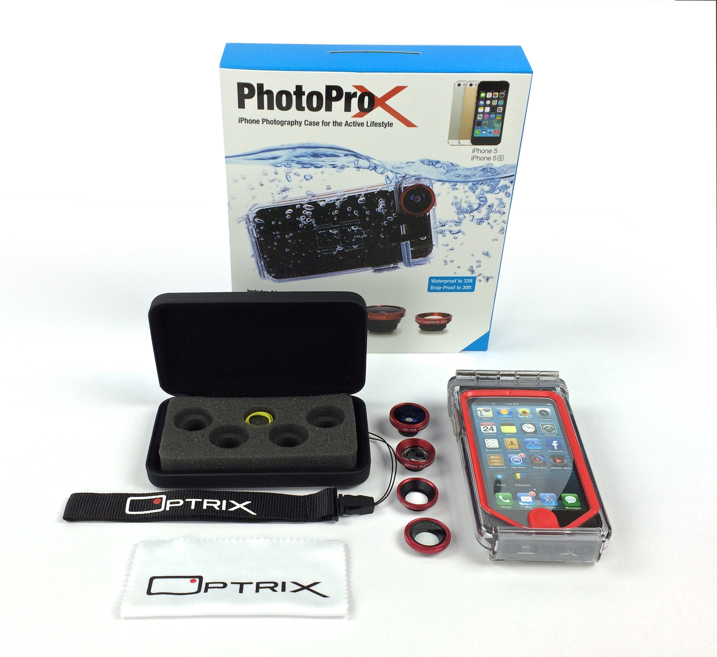 Optrix - Waterproof iPhone Photo Case