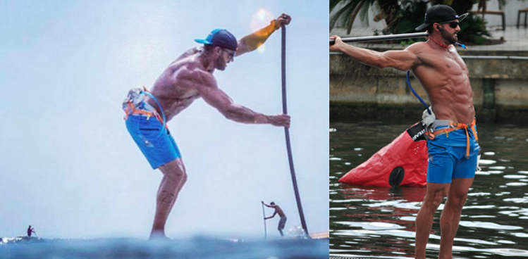 How to Get Ripped on and off the paddleboard by Josh Smart