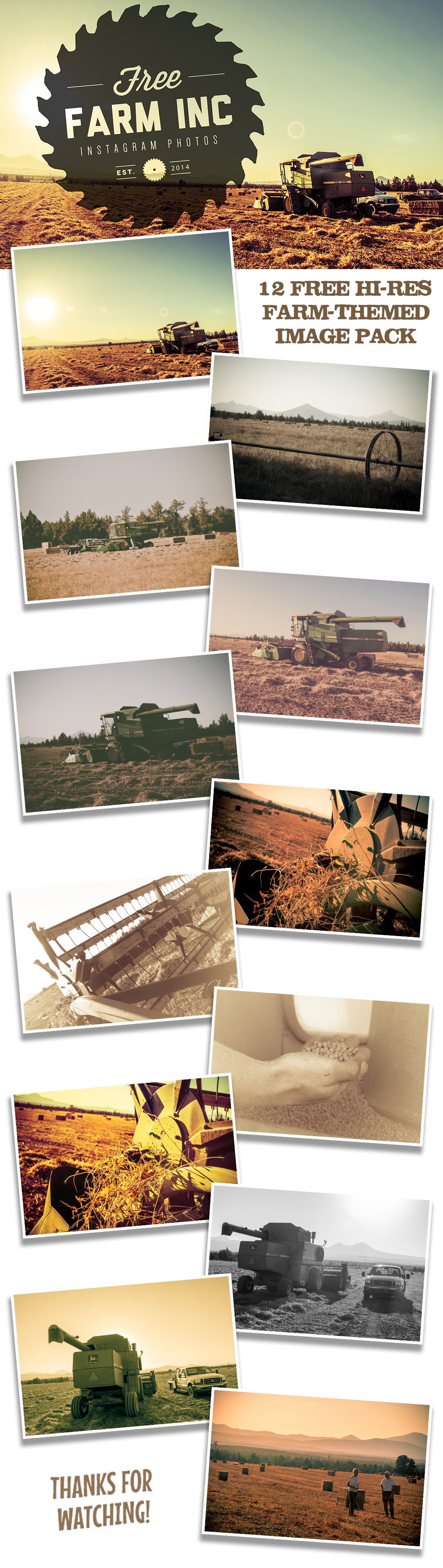 Insta-Farm Free Stock-Image Bundle
