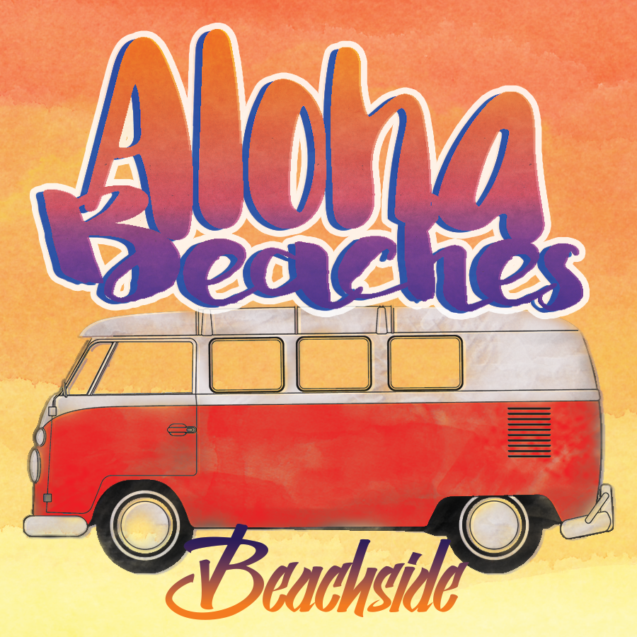 Aloha Beaches Cute Shirt Design