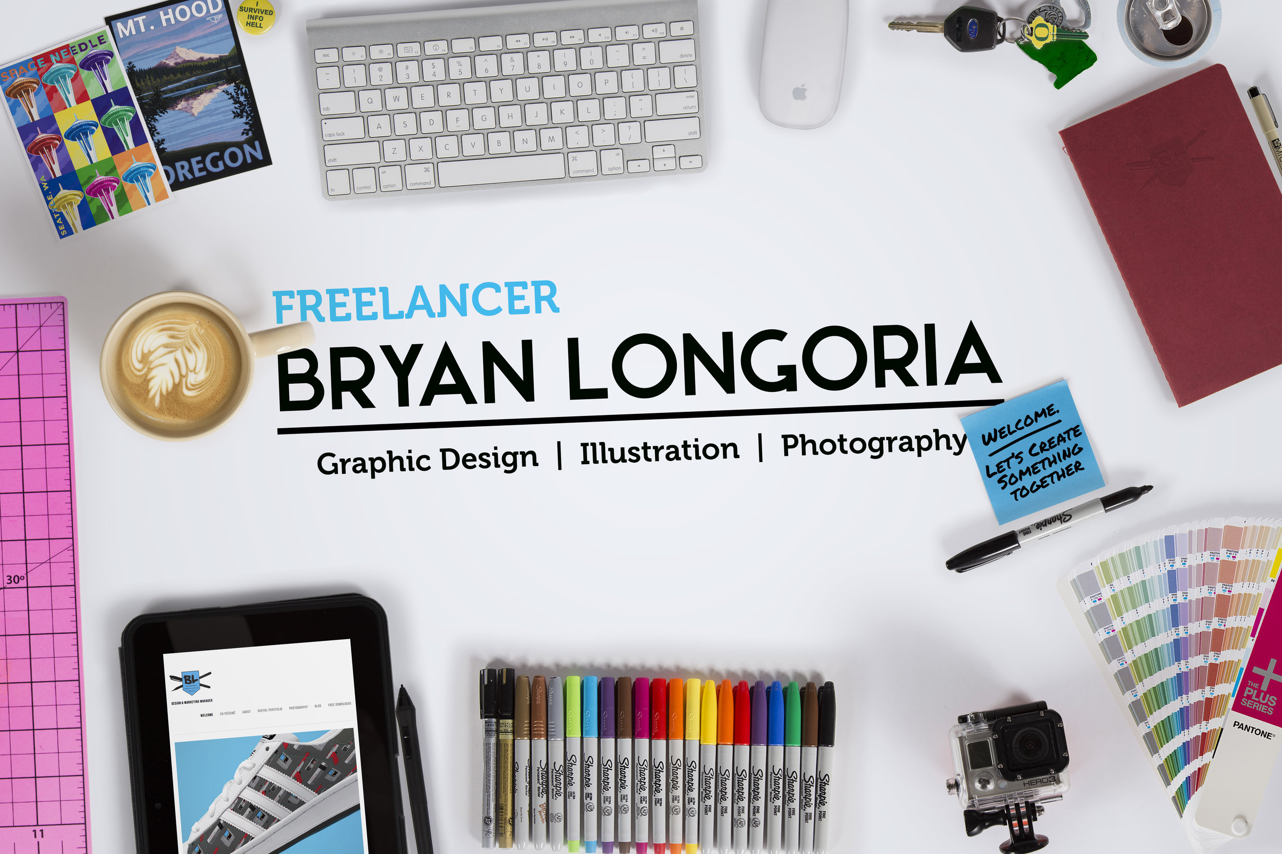 Freelance Graphic Designer Bryan Longoria