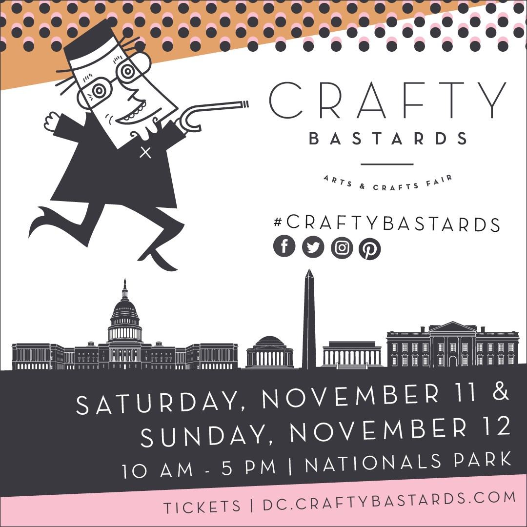 Now in its 14th year, Crafty Bastards Arts & Crafts Fair is an exhibition and sale of handmade goods from independent artists presented by the Washington  City Paper .