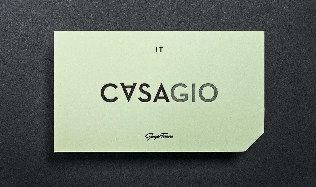 Business card detailing