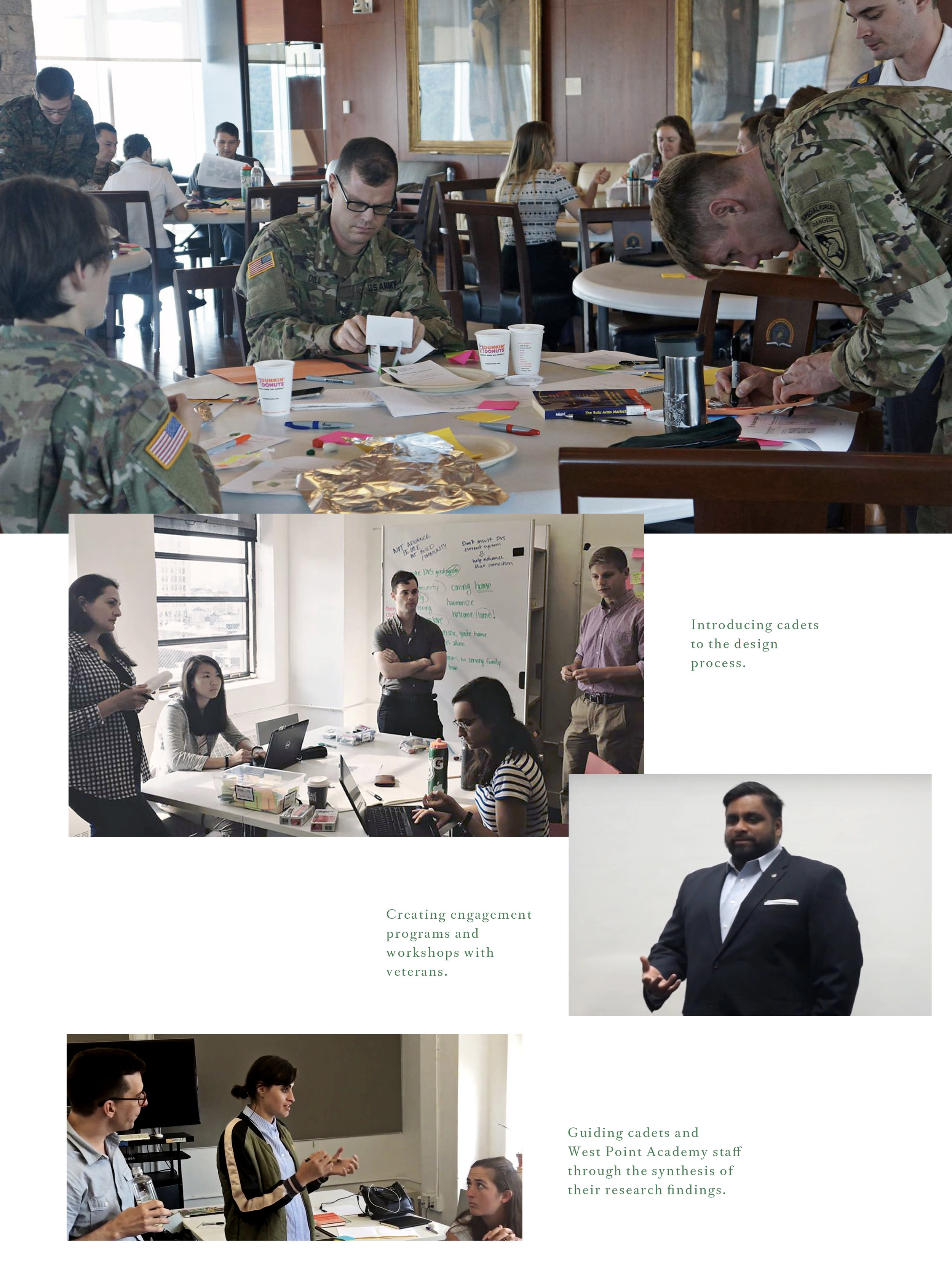 Design Workshop with Army Officers