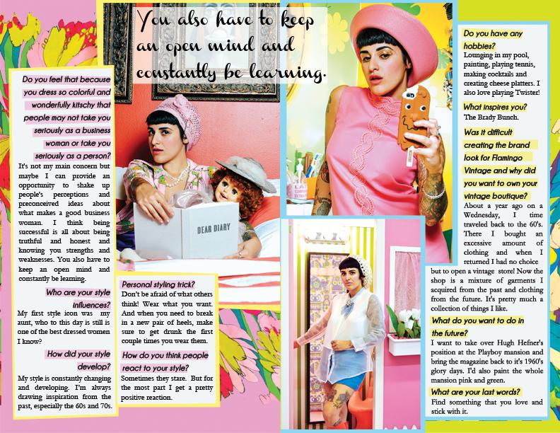 magazine layout graphic design