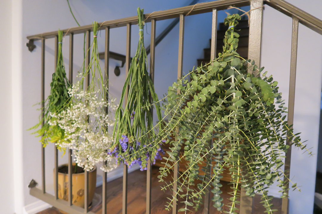 diy drying flowers