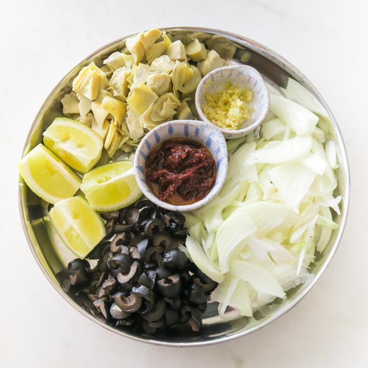 lemon artichoke pasta recipe