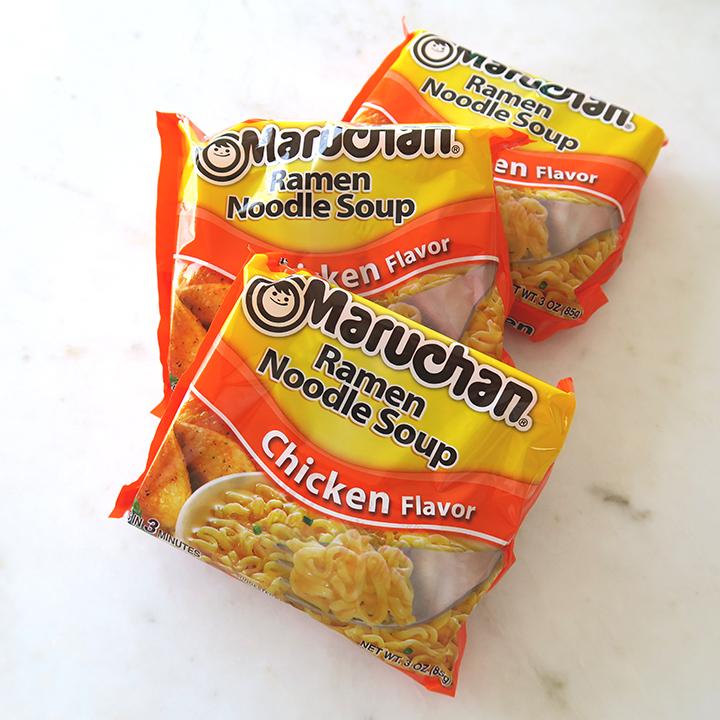 Instant ramen noodle brand Maruchan- sold in America