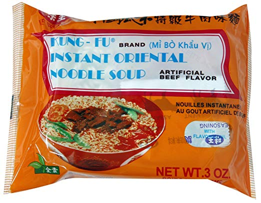 Instant noodle brand Kung-Fu: Taiwanese Brand (the brand I grew up eating)