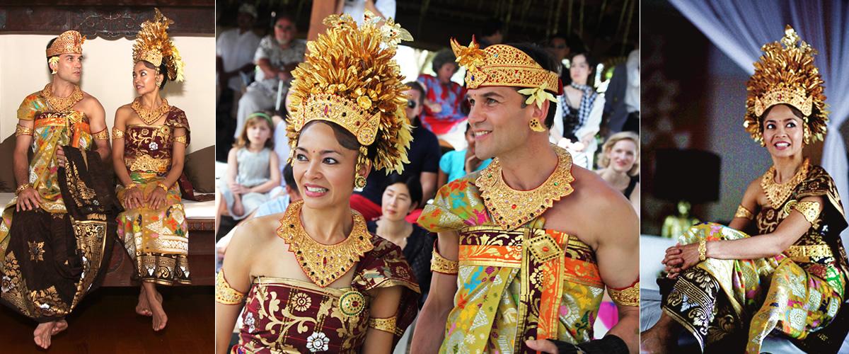 Yanti & Richard's Balinese wedding day, Canggu 2009.